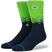 Stance Men's Seattle Seahawks Training 360 Crew Socks