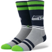 Stance Men's Seattle Seahawks Logo Crew Socks