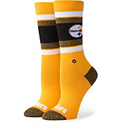 Stance Pittsburgh Steelers Light Crew Socks