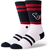 Stance Men's Houston Texans Logo Crew Socks