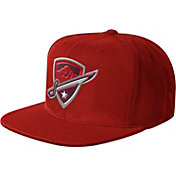 Starter Men's San Antonio Commanders Structured Red Adjustable Snapback Hat