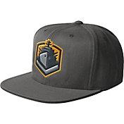 Starter Men's San Diego Fleet Structured Grey Adjustable Snapback Hat