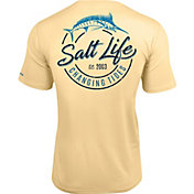 Salt Life Men's Changing Tides SLX Short Sleeve Performance T-Shirt