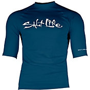 Salt Life Men's Daybreak Short Sleeve Rash Guard