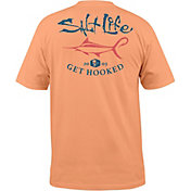 Salt Life Men's Get Hooked Marlin Short Sleeve T-Shirt