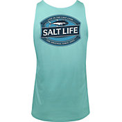 Salt Life Men's Life in the Cast Lane Tank Top