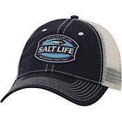 Salt Life Men's Life in the Cast Lane Mesh Back Trucker Hat