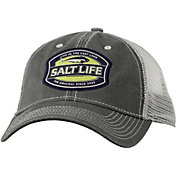 163640e681ec5 Product Image · Salt Life Men s Life in the Cast Lane Mesh Back Trucker Hat