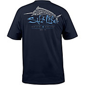 Salt Life Men's Etched Marlin Short Sleeve T-Shirt