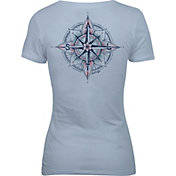 Salt Life Women's Never Lost Short Sleeve T-Shirt