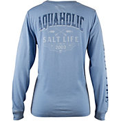 Salt Life Women's Aquaholic Circa 03 Sunburnt Long Sleeve Shirt