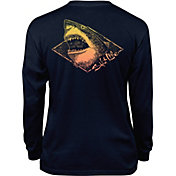 Salt Life Youth Electric Shark Long Sleeve T-Shirt