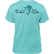 Salt Life Youth Waterdrops Sailfish Short Sleeve T-Shirt