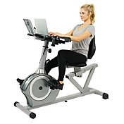 Sunny Health & Fitness SF-RBD4703 Magnetic Recumbent Desk Bike