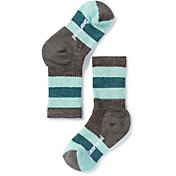 Smartwool Kid's Striped Hike Medium Crew Socks