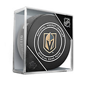 Sher-Wood Vegas Golden Knights Autograph Puck