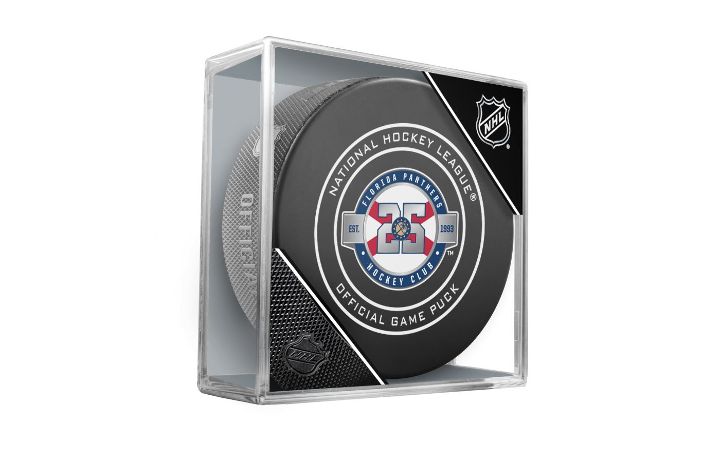 Sher-Wood Florida Panthers 25th Anniversary Puck