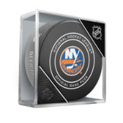 Sher-Wood New York Islanders Autograph Puck