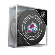Sher-Wood Colorado Avalanche Autograph Puck