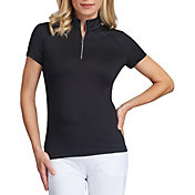 Tail Women's Short Sleeve ¼ Zip Insert Golf Polo