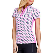 Tail Women's Baxley Mock Neck Golf Top