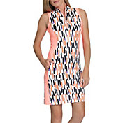 Tail Women's Clermont Sleeveless ¼-Zip Mock Neck Golf Dress