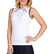 Tail Women's Diya Sleeveless Mock Neck Golf Top