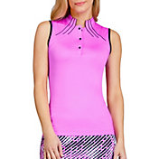 Tail Women's Diya Sleeveless Mock Neck Golf Top