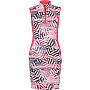 Tail Women's Sleeveless ¼-Zip Mock Neck Golf Dress