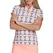 Tail Women's Emerson Short Sleeve ¼-Zip Mock Neck Golf Top