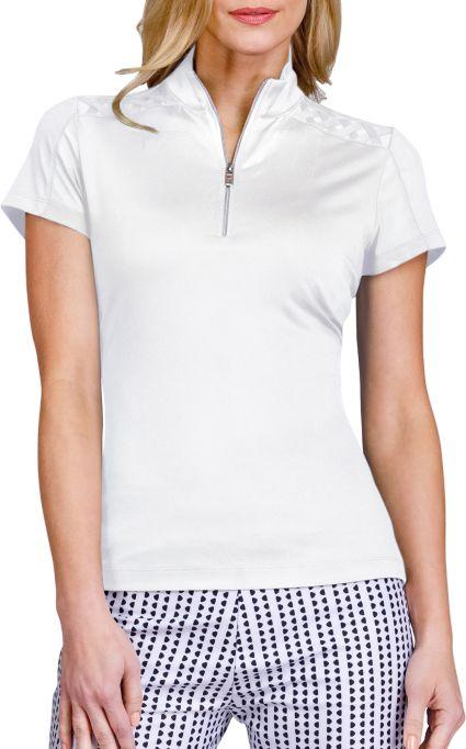 Tail Women's Maui Short Sleeve ¼-Zip Mock Neck Golf Top