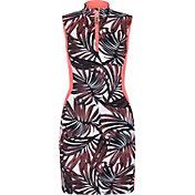Tail Women's Sleeveless Brushed Jersey ¼-Zip Mock Neck Golf Dress