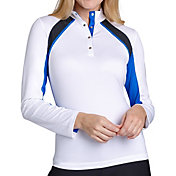Tail Women's Printed Golf 1/4 Zip