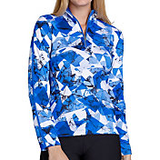 Tail Women's Printed Pattern Golf 1/4 Zip