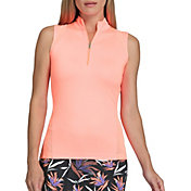 Tail Women's Rori Sleeveless ¼-Zip Mock Neck Golf Top
