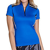Tail Women's Short Sleeve ¼ Zip Jersey Golf Polo