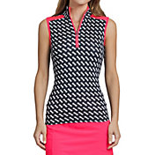 Tail Women's Sleeveless ¼ Zip Golf Top