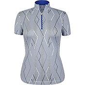 Tail Women's Short Sleeve ¼ Zip Golf Top