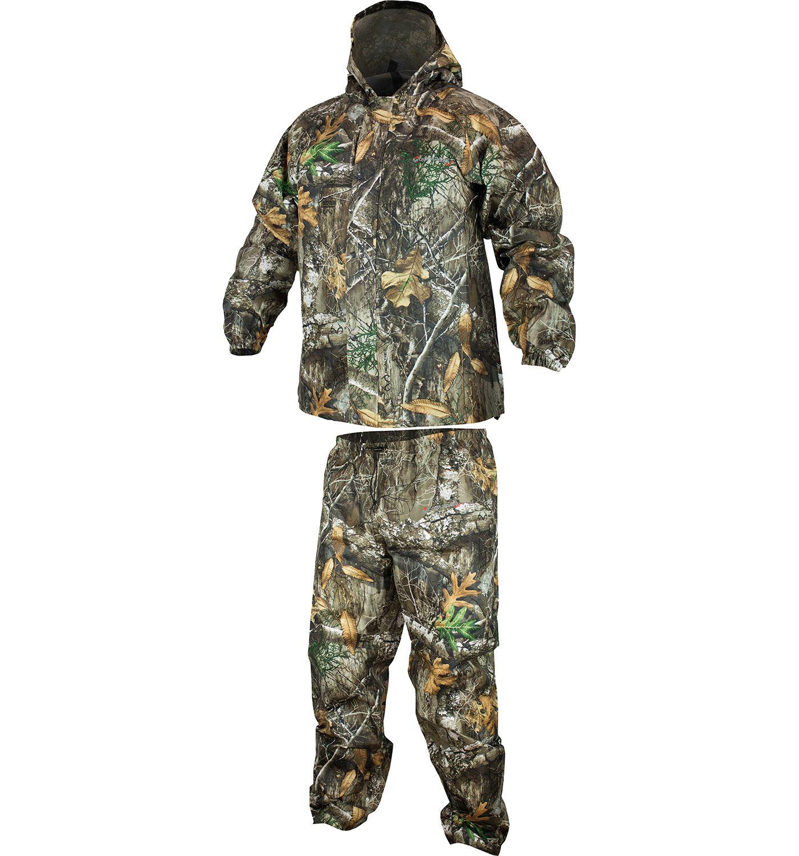 Compass 360 Men's SportTEK Camo Rain Suit