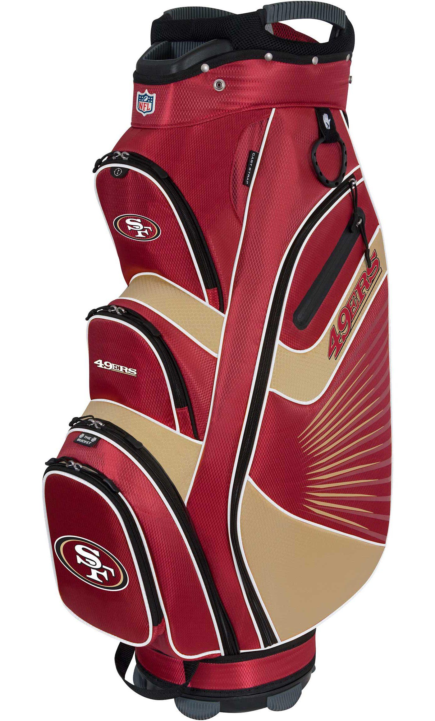 Team Effort San Francisco 49ers Bucket II Cooler Cart Bag