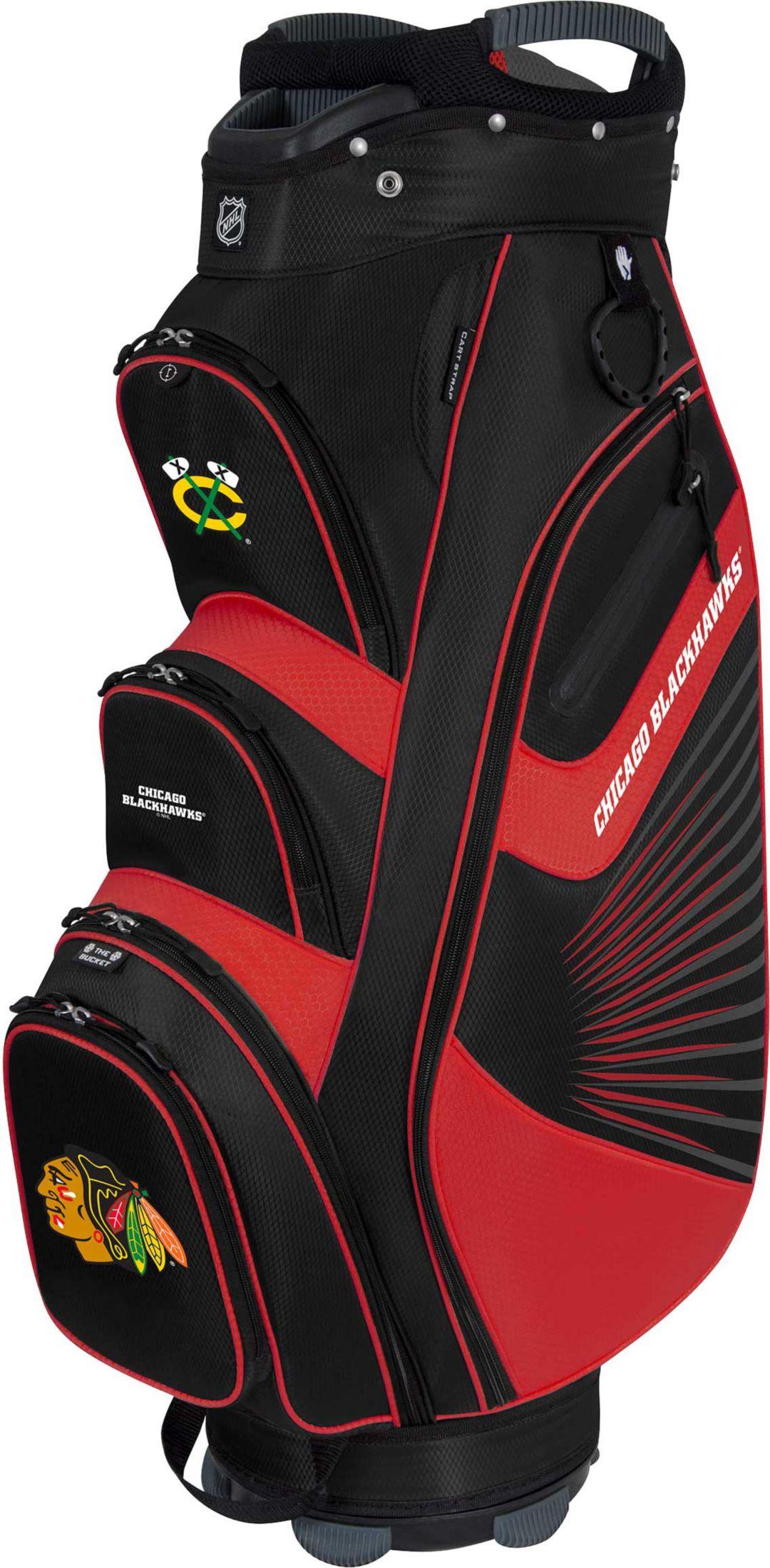 Team Effort Chicago Blackhawks Bucket Ii Cooler Cart Golf Bag