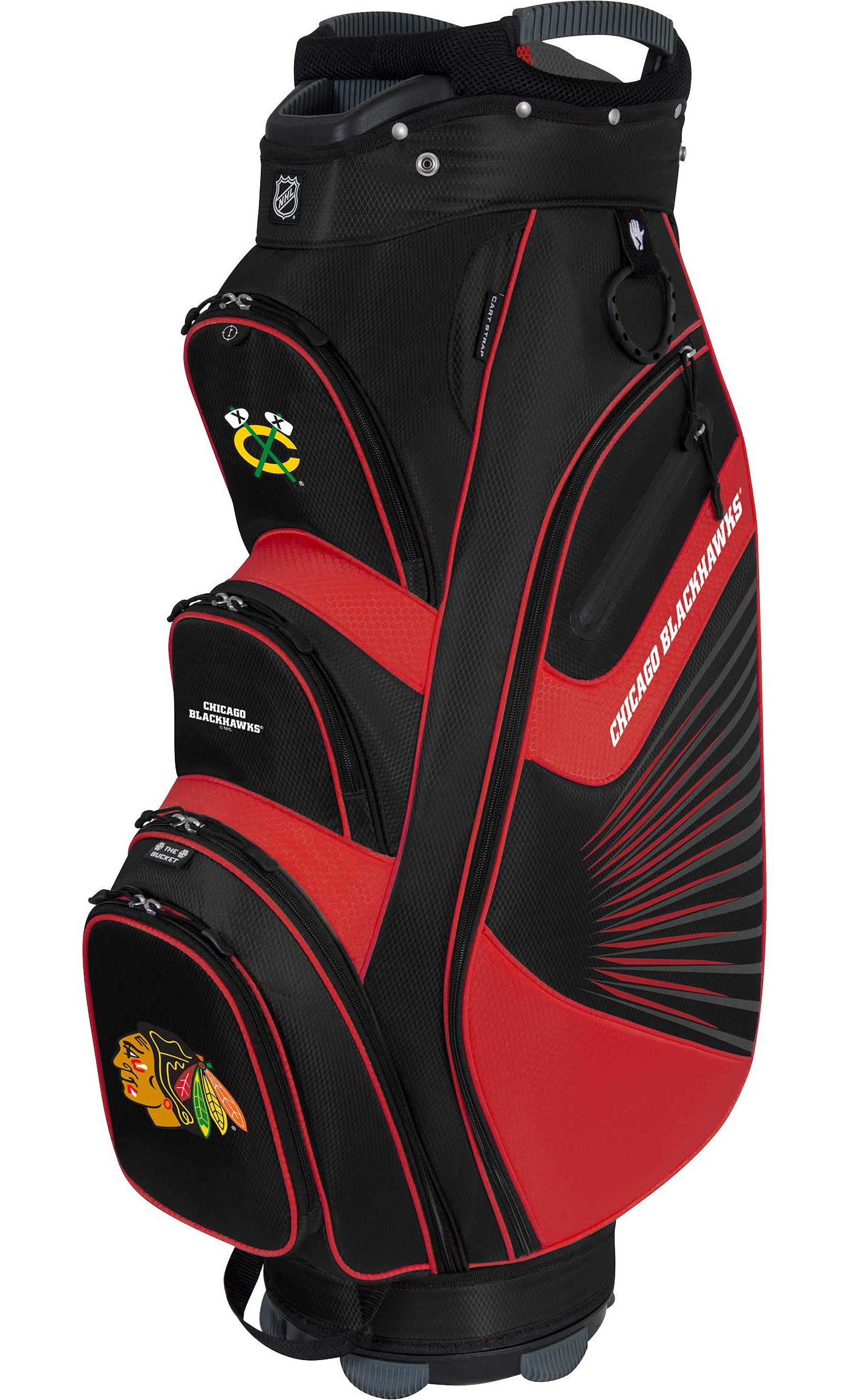 Team Effort Chicago Blackhawks Bucket II Cooler Cart Bag