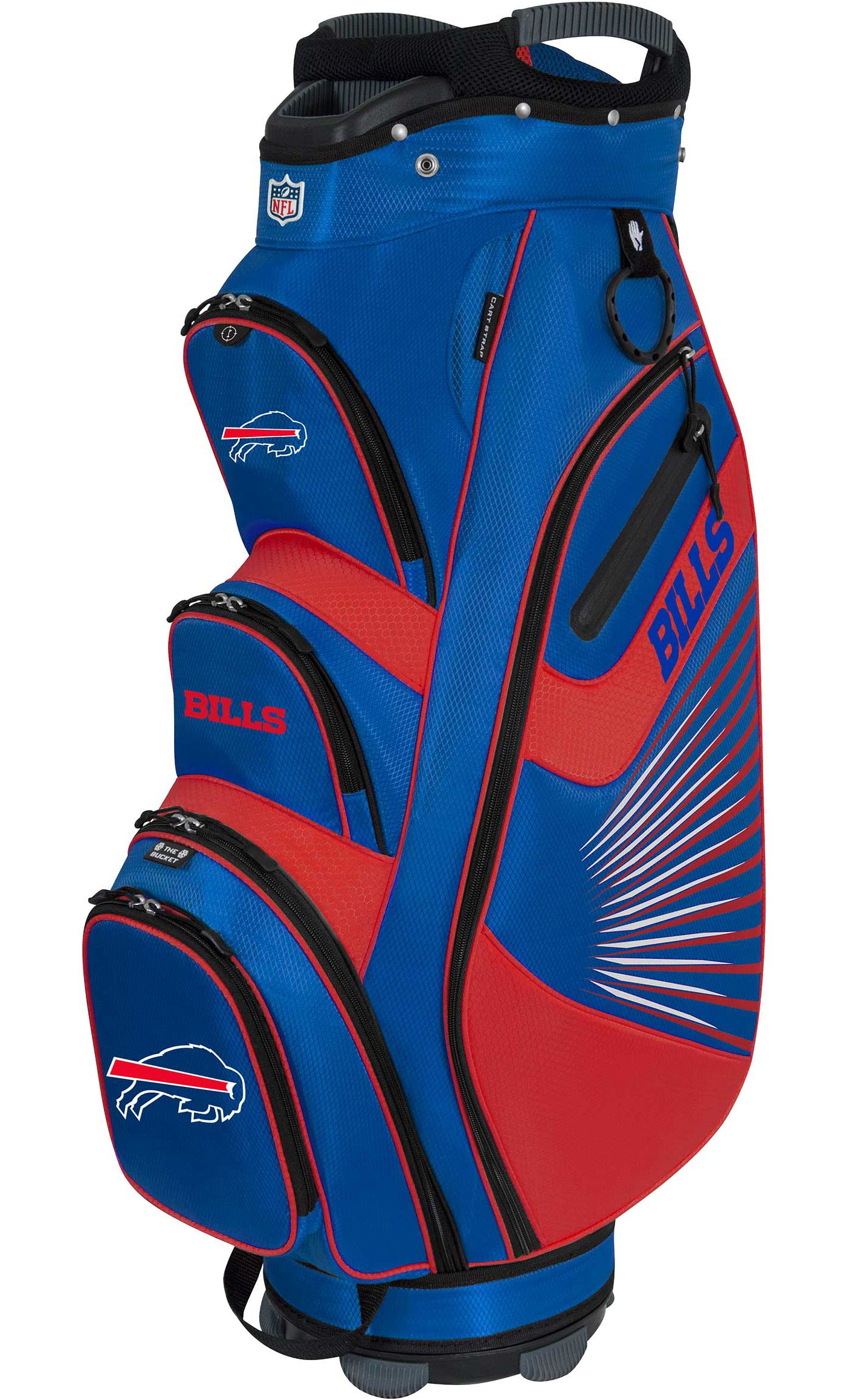 Team Effort Buffalo Bills Bucket II Cooler Cart Bag