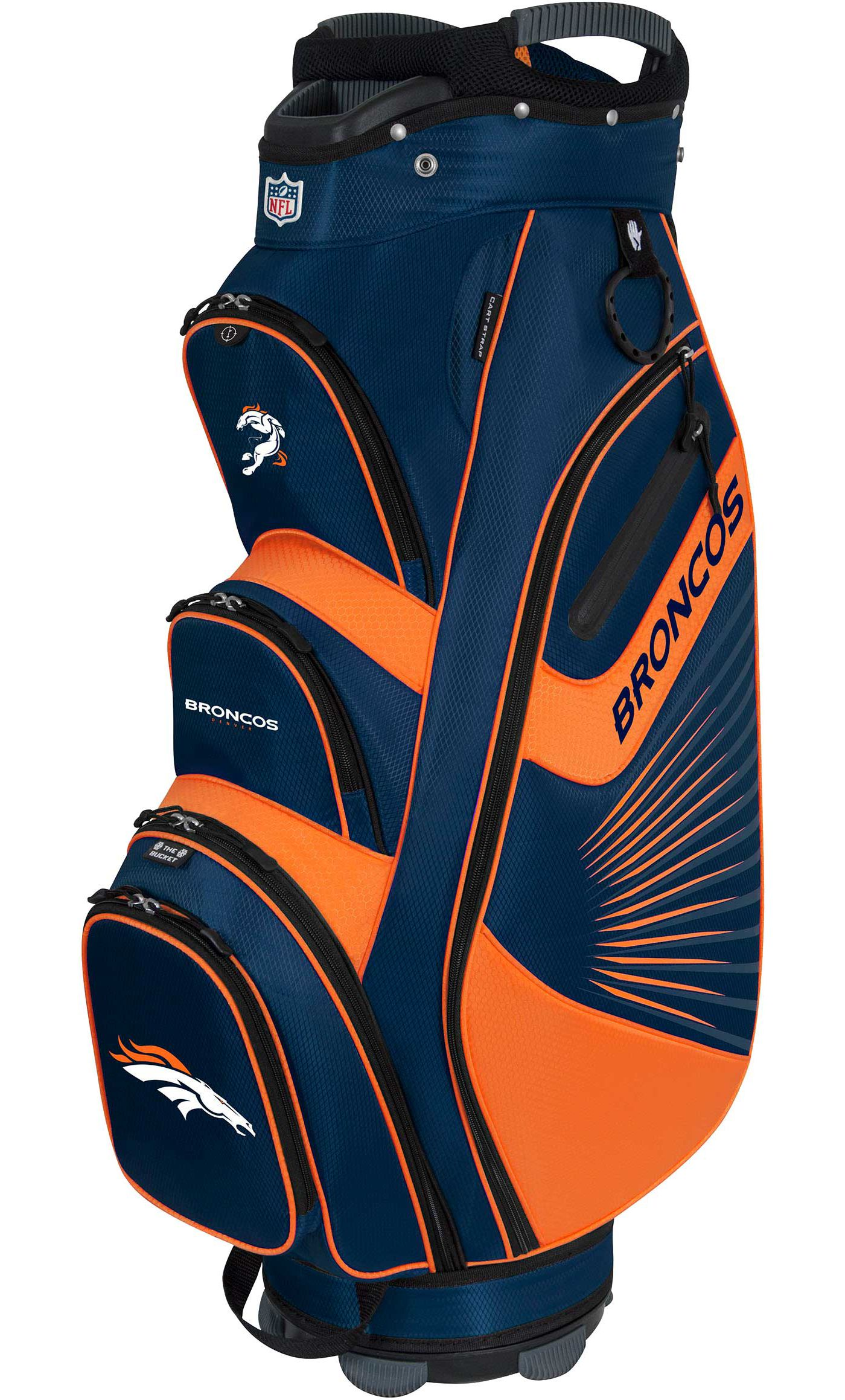 Team Effort Denver Broncos Bucket II Cooler Cart Bag