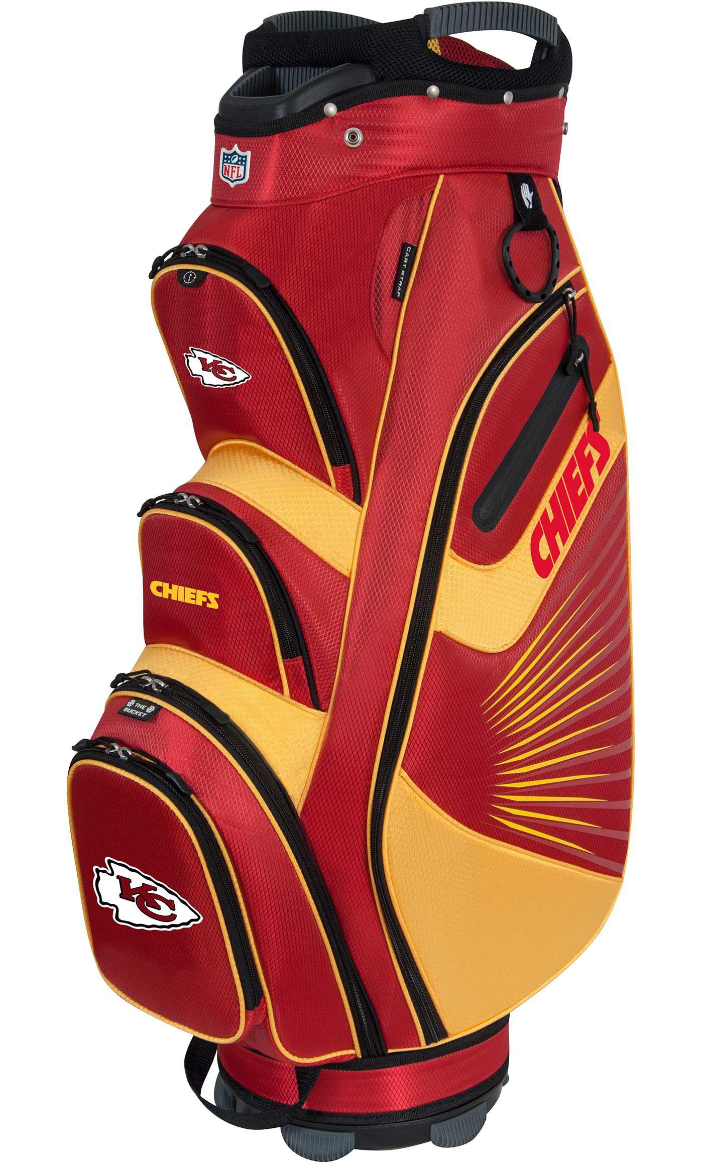Team Effort Kansas City Chiefs Bucket II Cooler Cart Bag