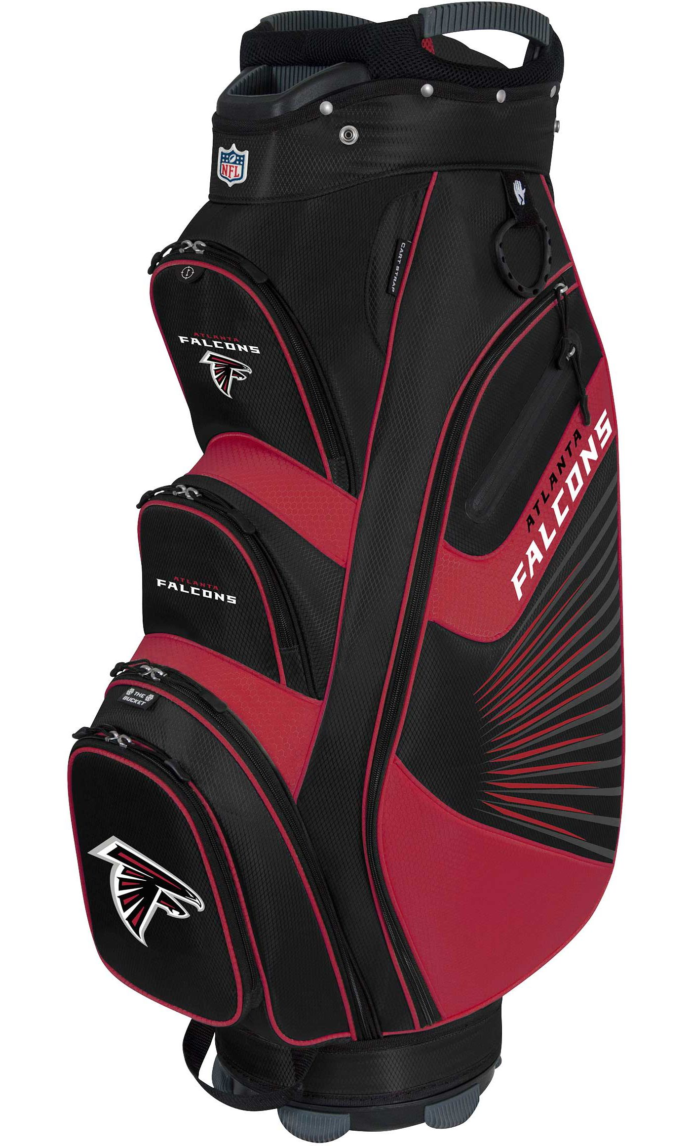 Team Effort Atlanta Falcons Bucket II Cooler Cart Bag
