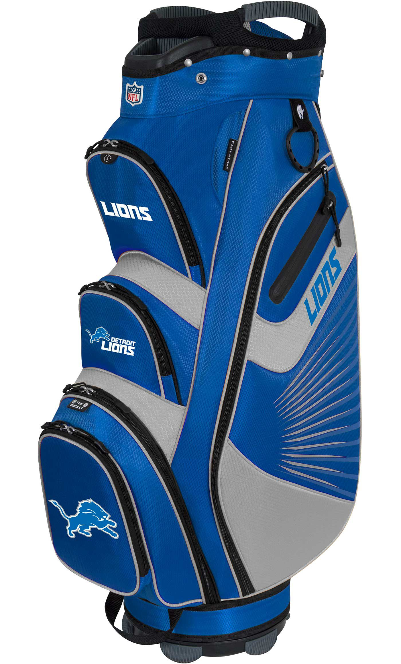 Team Effort Detroit Lions Bucket II Cooler Cart Bag