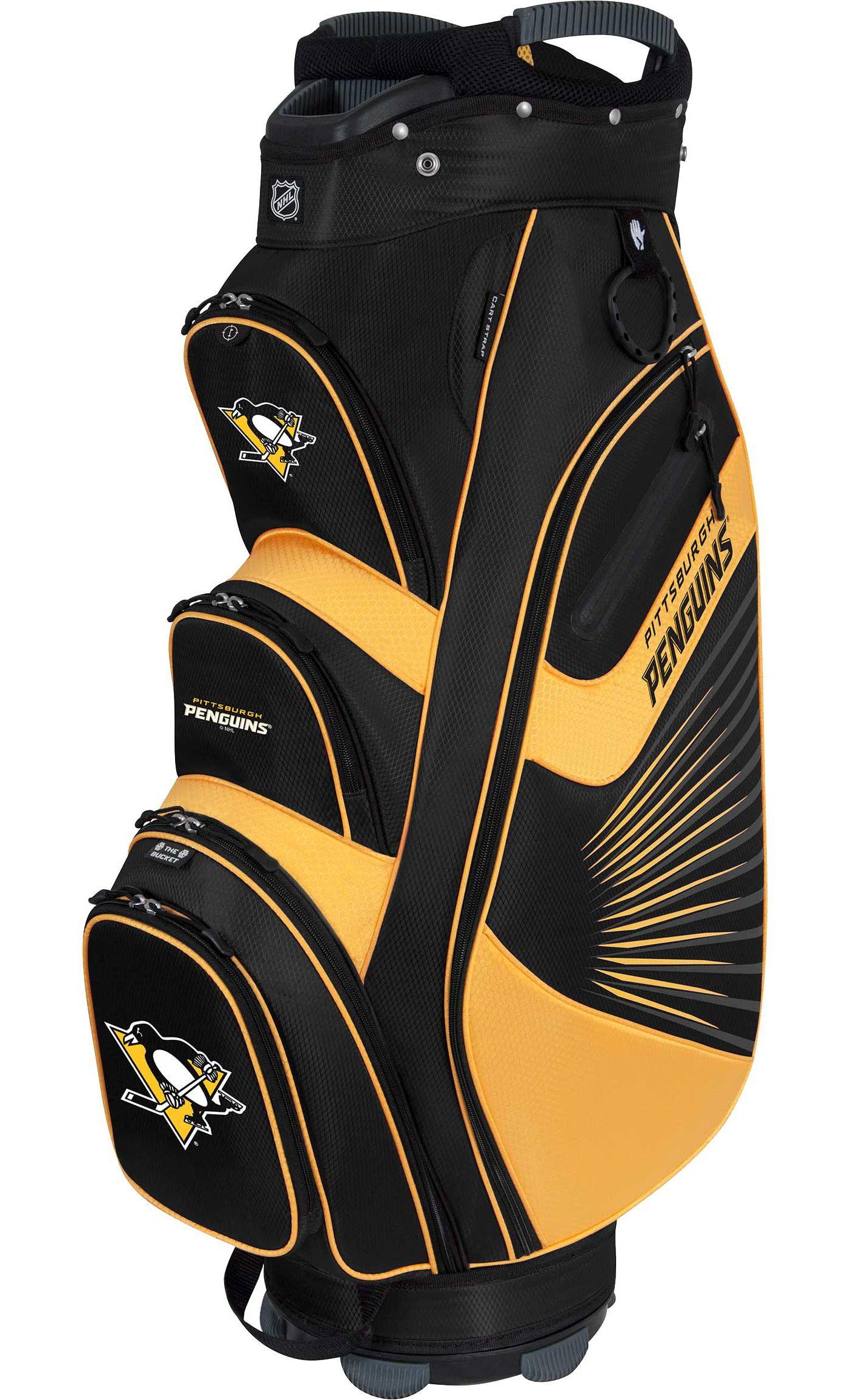 Team Effort Pittsburgh Penguins Bucket II Cooler Cart Bag