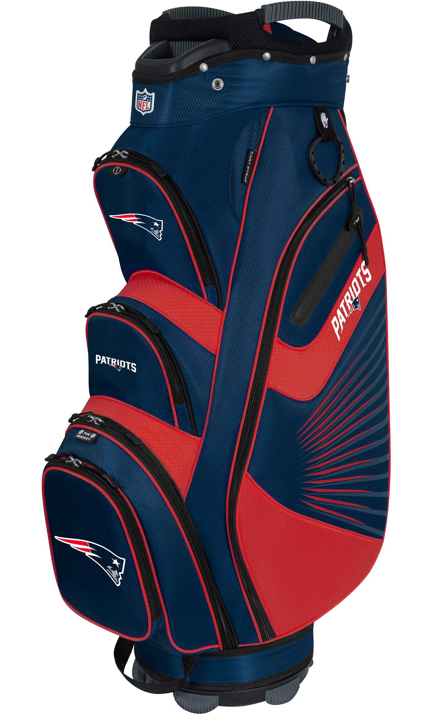 Team Effort New England Patriots Bucket II Cooler Cart Bag