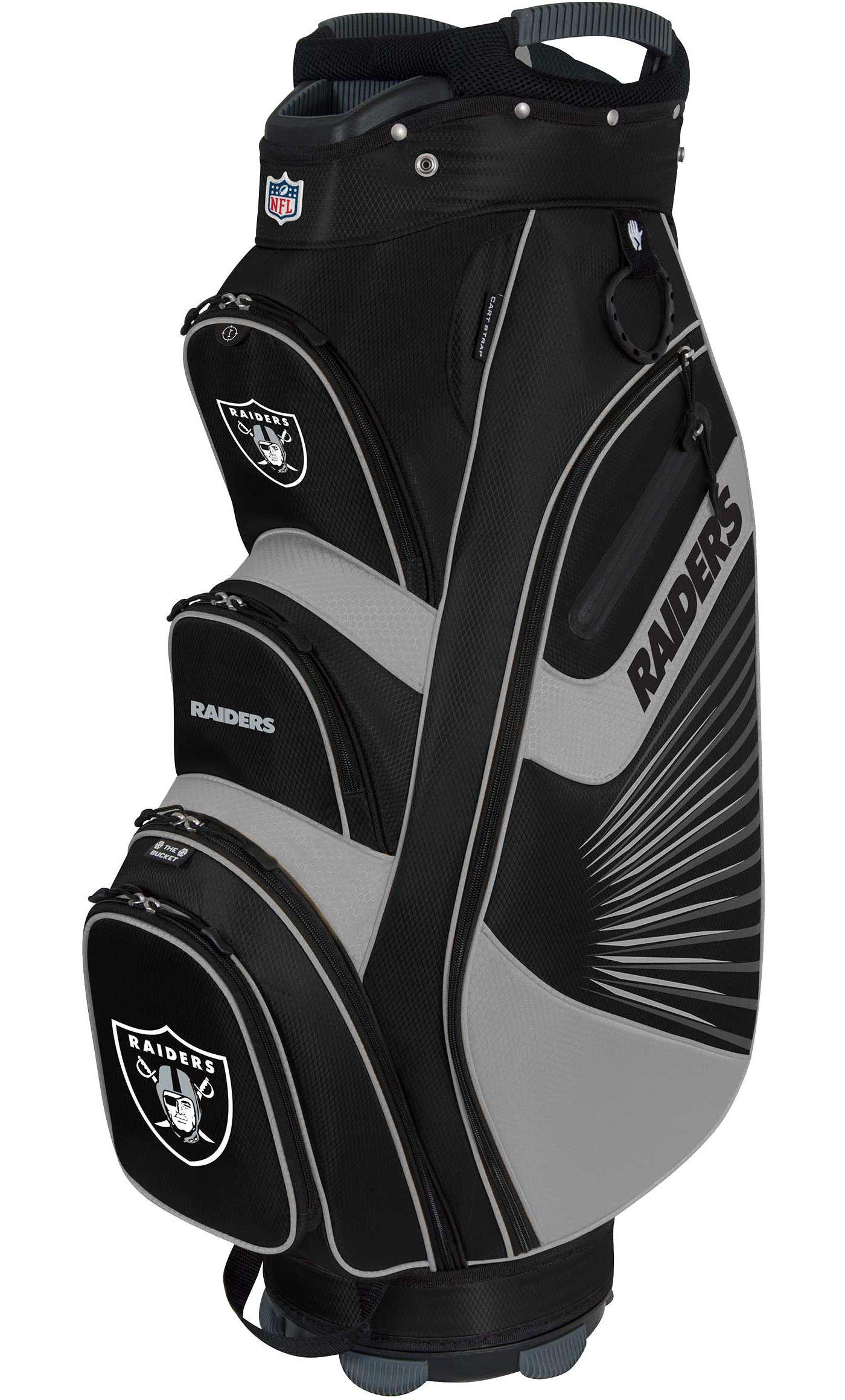 Team Effort Oakland Raiders Bucket II Cooler Cart Bag